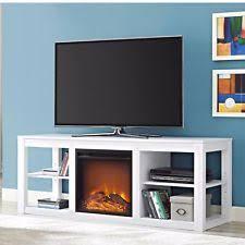 Electric Fireplace White Modern Electric Fireplace Ebay