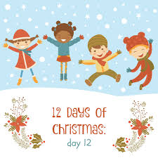 12 days of christmas for toddlers the domestic four