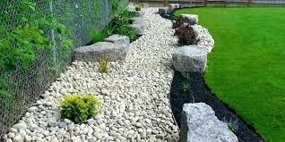 Black Garden Rocks River Rock Landscape Designs Mreza Club