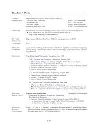 Best Resume Format Of 2015 by Resume Dr Zeba Shakir Best Resume Format For It Professional