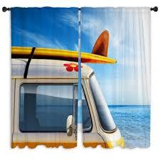 Van Window Curtains Hippie Custom Size Window Curtains
