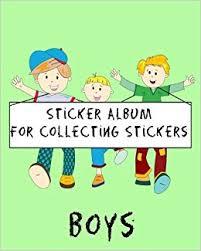 8 x 10 photo album books sticker album for collecting stickers boys blank sticker book 8