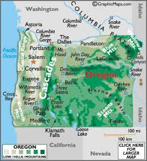 map of oregon 2 page 2 oregon map geography of oregon map of oregon