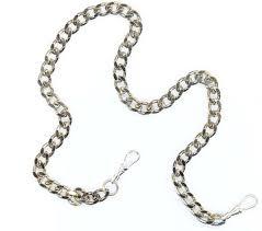 vintage watch chain necklace images Men 039 s pocket watch chain vintage necklace chain large watch jpg
