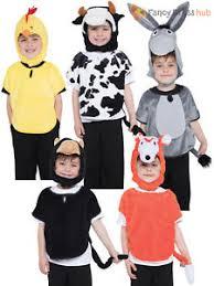 childs animal tabard boys girls christmas nativity farm fancy