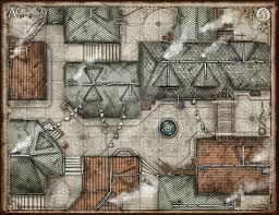 rpg floor plans the alleyways battlemap by theredepic on deviantart