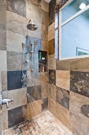 bathroom wallpaper hd doorless tile shower glass shower wall no