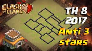clash of clans th8 war base 2017 clash of clans best base