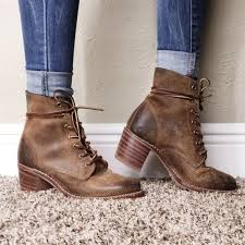 womens boots and booties best 25 lace up boots ideas on laced boots lace