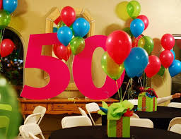 Centerpieces 50th Birthday Party by 50th Birthday Party Ideas Decorations Party Ideas Pinterest