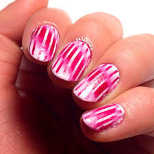reciprocal gradient candy canes naildawdle