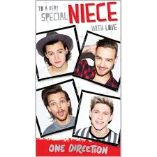 one direction cards one direction niece birthday card danilo