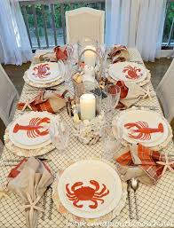 themed tablescapes nautical and themed table setting tablescape