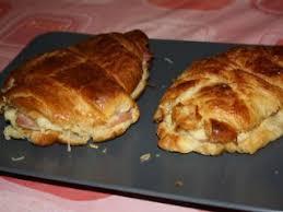 cuisiner des restes cuisiner les restes 1 croissants jambon fromage à la béchamel