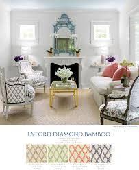 quadrille china seas lyford diamond bamboo in house beautiful