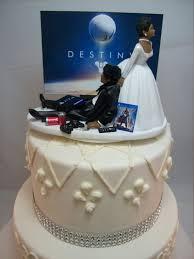 gamer wedding cake topper dest wedding cake topper gamer junkie gaming
