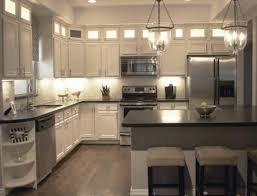 kitchen accessories gray wooden cabinet marble top backsplash