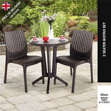 Tesco Bistro Chairs Buy Keter Rattan Style 2 Seater Bistro Set From Our Keter Outdoor