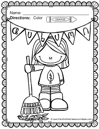 fall coloring pages for first grade diannedonnelly com