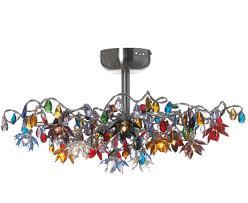 multi colored light fixture light modern mini pendant light with multi color glass ceiling and
