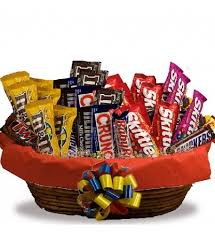 candy basket delivery a delicious gift that is sure to make anyone smile with large and