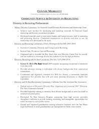 Resume Backgrounds Community Service And Diversity In Recruitment Addendum To Resume O U2026