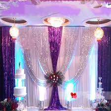 wedding backdrop fabric upscale sequins fabric wedding backdrop decoration gauze curtain