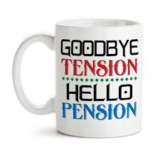 goodbye tension hello pension coffee mug goodbye tension hello pension retirement retiree retired