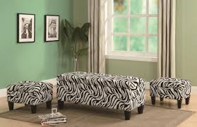 Upholstery Fabric For Chairs by Zebra Print Ottoman Storage Ottomans For Sale Animal Print