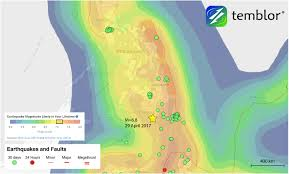 Us Geological Earthquake Map Earthquake Strikes Off Southern Philippines Temblor Net