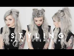 hair extensions styles how i style hair extensions