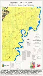 Map Of St Louis Mo Missouri Geological Survey