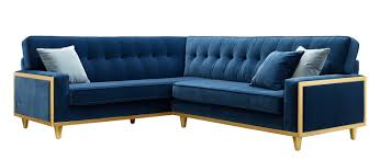 House Of L Interior Design The Fifty Nine Corner Sofa Gplan Fabric Velvet Blue Retro