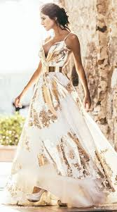 gold and white wedding dress perfect idea b35 about gold and white