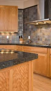 slate backsplash jade green slate floors and tumbled gold
