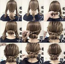 easy hair styles for long hair for 60 plus 60 diy easy updos for medium hair hair motive hair motive