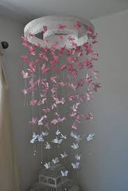 Butterfly Chandelier Butterfly Mobile Chandelier I Never Wanted Butterflies In Her