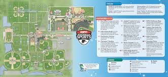Walt Disney World Maps by 2013 Espn Wide World Of Sports Park Map Walt Disney World Park