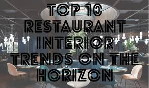 top 10 restaurant interior design trends on the horizon 2g