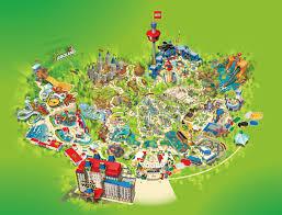 Legoland Map Florida by Visual Maps On Behance