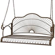 Swing Chair Patio Best Choice Products Iron Patio Hanging Porch Swing