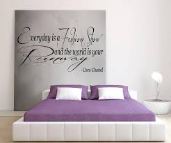 20 ideas of coco chanel wall stickers wall art ideas coco chanel everyday is a fashion show and the world is your pertaining to coco