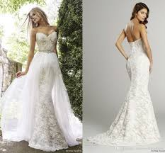 lace mermaid wedding dresses two pieces mermaid lace wedding dresses 2015 winter bridal gowns