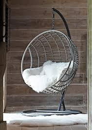 Indoor Hanging Swing Chair Egg Shaped Chair Furniture Modern Outdoor Hanging Chair Stand Basket Cushions