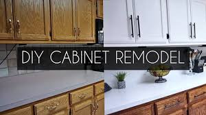 how to update kitchen cabinets without painting diy how to paint cabinets without sanding youtube