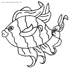 fish 0 free printable coloring pages