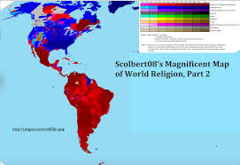 Map Of Globe Scolbert08 U0027s Magnificent Map Of World Religion Part 1 Geocurrents