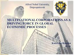 Universities As Multinational Enterprises The Multinational Alfred Nobel Dnipropetrovsk Multinational Corporations