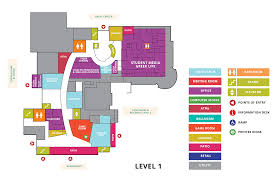 Recreation Center Floor Plan by Auburn University Student Center