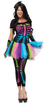 Skeleton Costume Women U0027s Neon Skeleton Costume Costumes